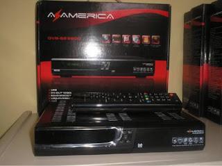 Atualização Azamérica S900