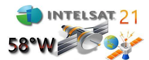 NOVAS LISTA DE TPS SATELITE INTELSAT 21 58W