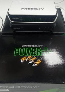 ATUALIZAÇÃO FREESKY POWER PLUS V1.06