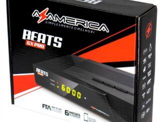 Atualização Azamerica Beats GX PRO V1.21