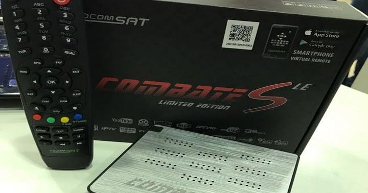 Tocomsat Combate S Limited Edition Atualização
